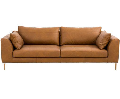 Leder Big Sofa Canyon 3 Sitzer Sofa Leder Sofa Sofa Beige