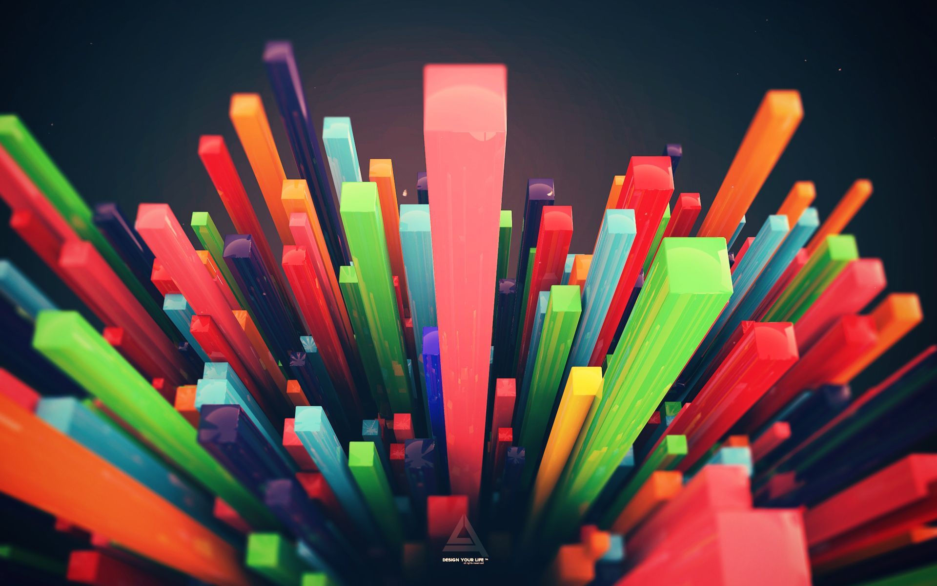 Pics photos 3d colorful abstract background design - Colorful Wallpaper Colorful 3d Bars
