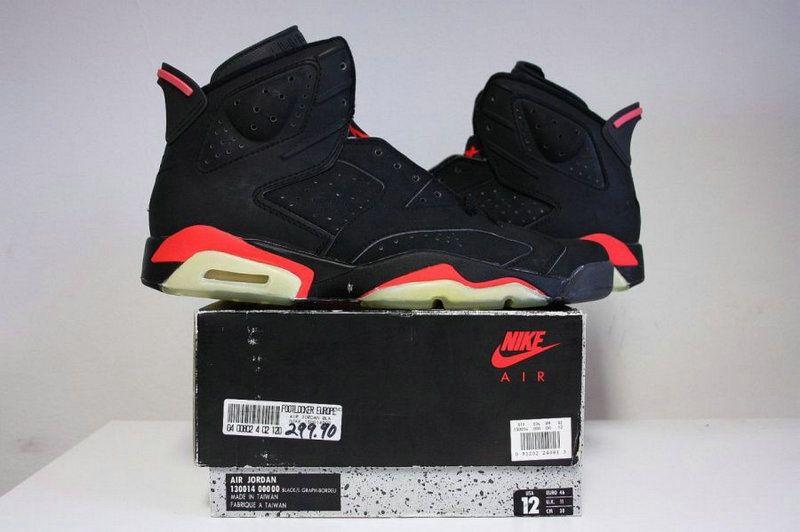 e3fea773432cd0 Youth Big Boys Air Jordan 6 Black Infrared OG Anthracite Watermelon ...