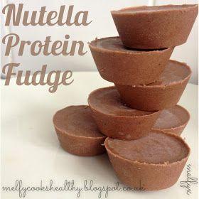 Melfy Cooks Healthy: Nutella Protein Fudge