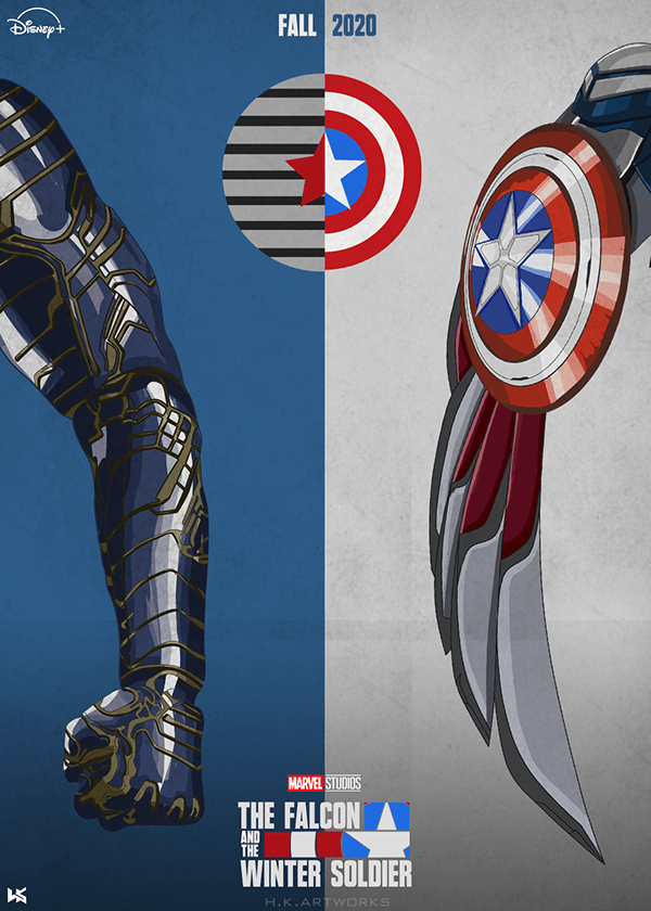 The Falcon and winter soldier Poster