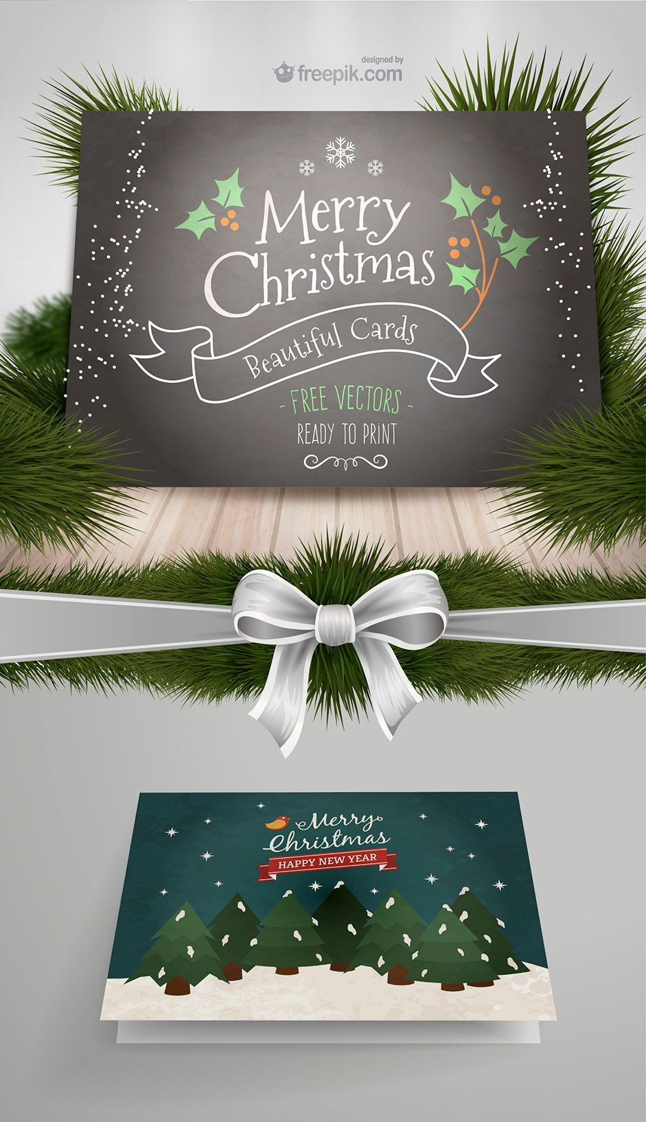 10 new xmas cards from freepik and more free resources for your freepik christmas cards stopboris Gallery
