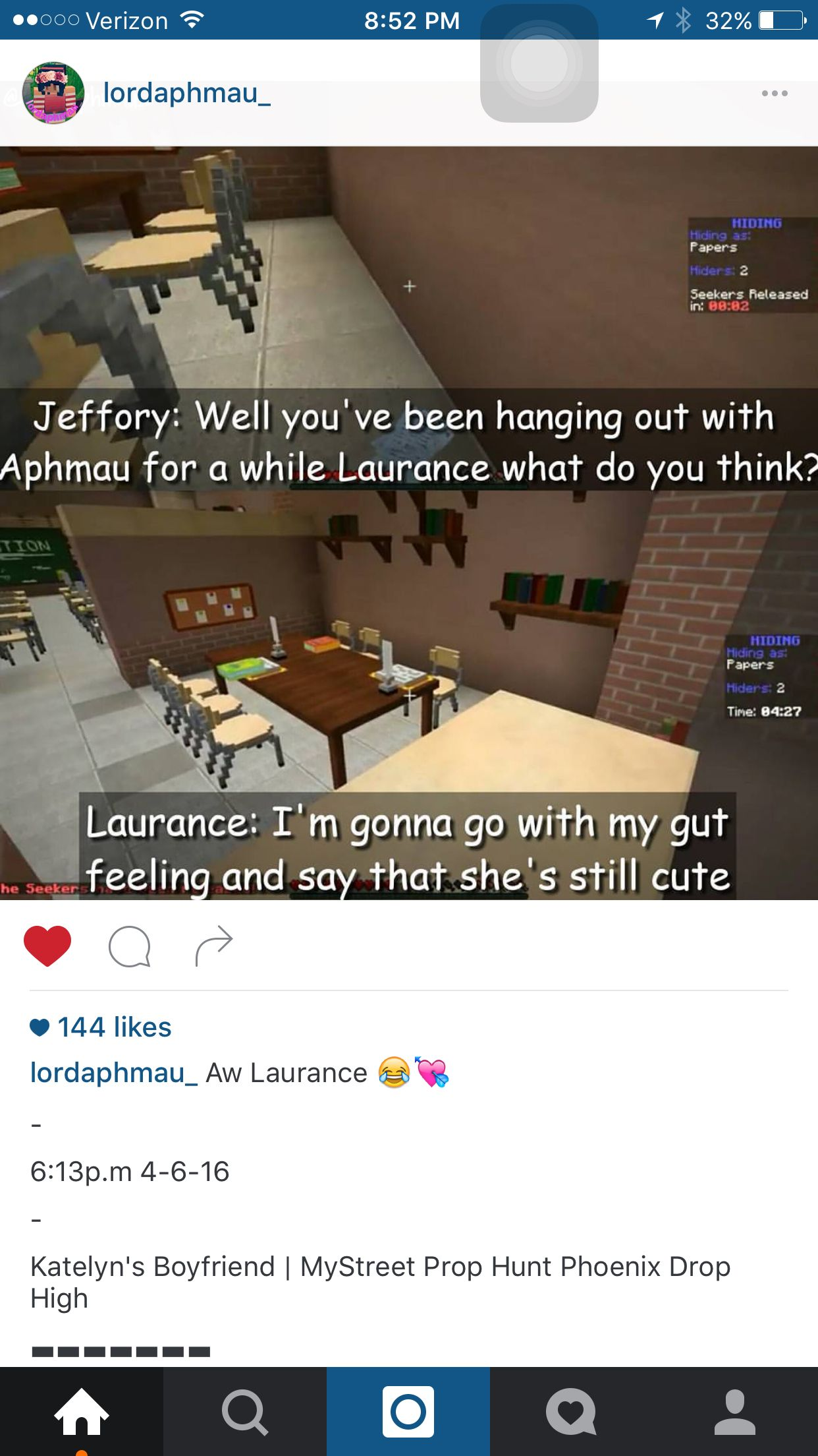 Laurence stay away from Aph... She's not yours