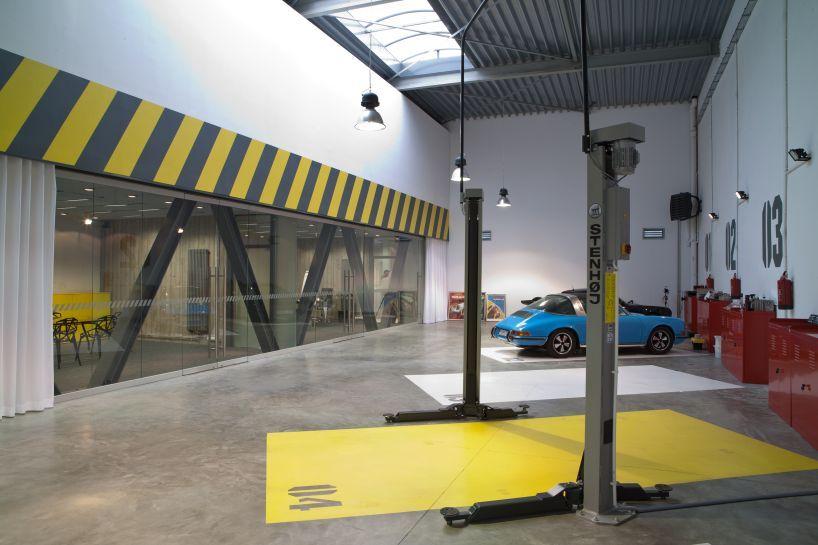 Ultra Architects Garage Office Garage Office Warehouse Design