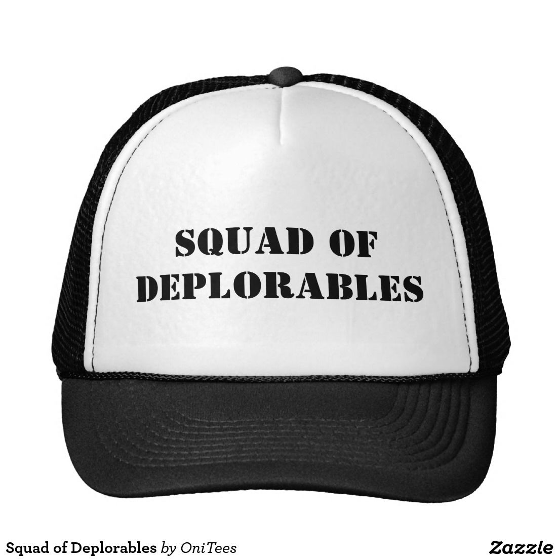 Squad of Deplorables Trucker Hat