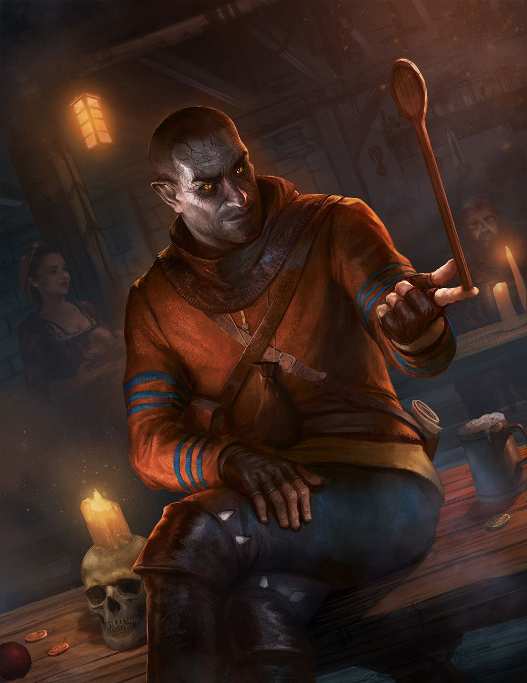 Gaunter odimm the witcher 3 wild hunt gwent card