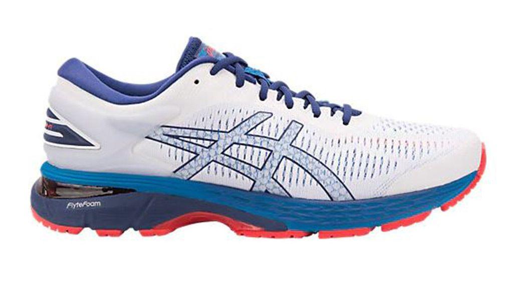 asics running shoes flat feet