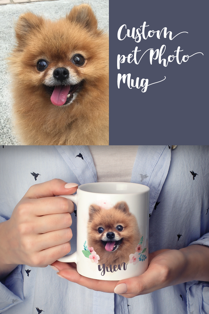 Custom Pet Mug, Personalized Mug, Pet Photo Mug, Custom Gift, Pet Coffee Mug, Custom Mug, Personalized Pet, Cat Dad Mug, Dog Memorial Gifts #custommugs