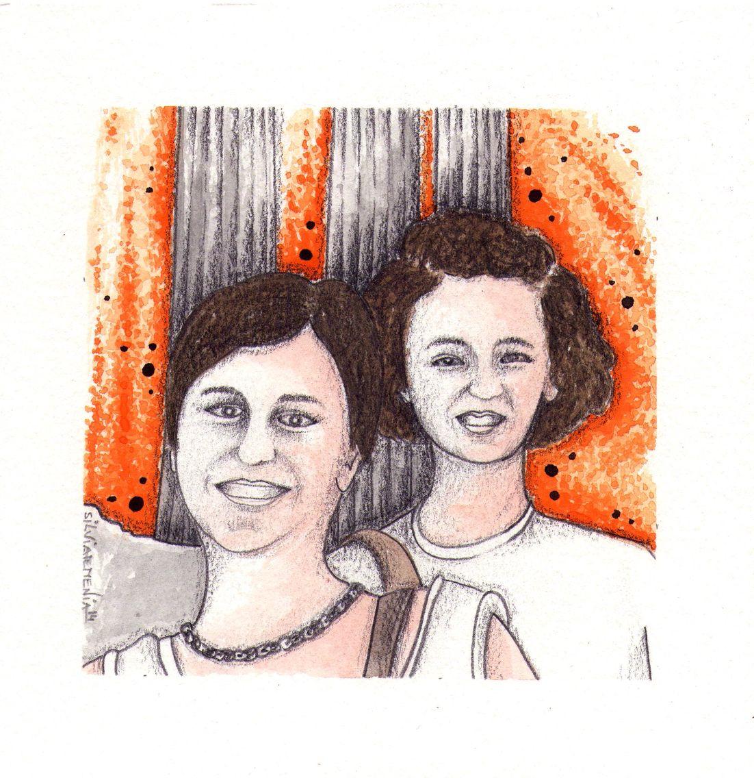 UN VIAJE MUY ESPECIAL    Han pasado 25 años desde aquel viaje tan especial que hicimos a Grecia, recuerdo que nos quedamos impresionadas al ver el Partenón dedicado a la diosa Atenea y sobre todo con la tortilla tan rara que nos sirvieron allí. Pasamos unos días maravillosos  que recuerdo con mucha ilusión.  Gracias por acompañarme, por estar siempre a mi lado y por quererme.  Dedicada a mi tía y amiga  Mavi,  por ser tan importante para mi. De Maite.