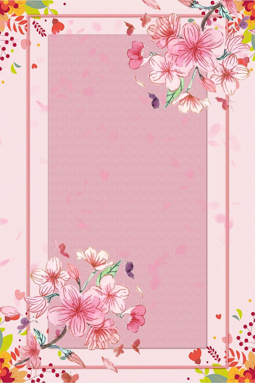 Fondo Rosado Lindo De La Flor Flower Graphic Design Flower Graphic Flower Background Images