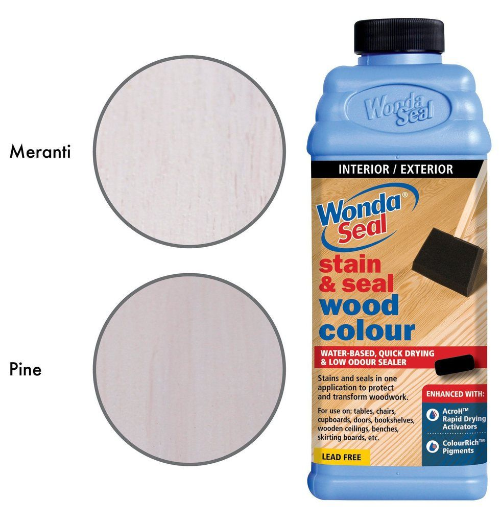 White Wash Wood Stain: WondaSeal Quick Dry Interior/Exterior Wood Stain & Sealer