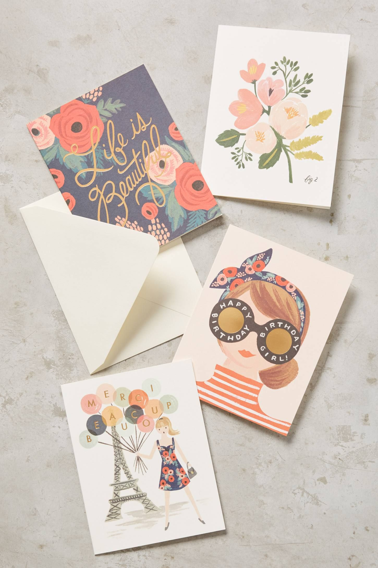 Rifle Paper Co Cards  Rifle paper