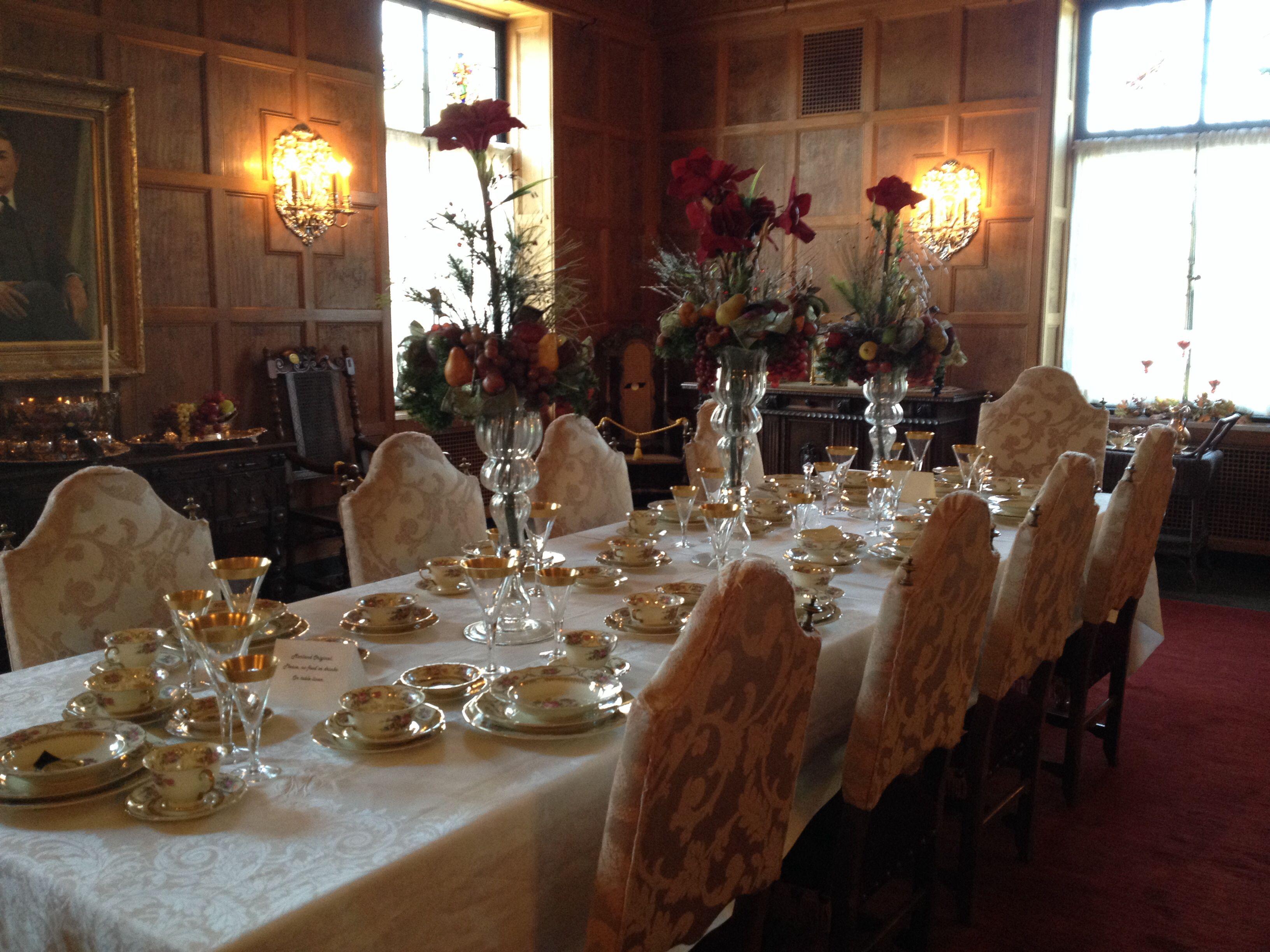Marland Mansion main dining room