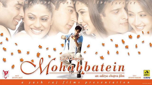 Mohabbatein 2000 hindi mp3 songs free download.