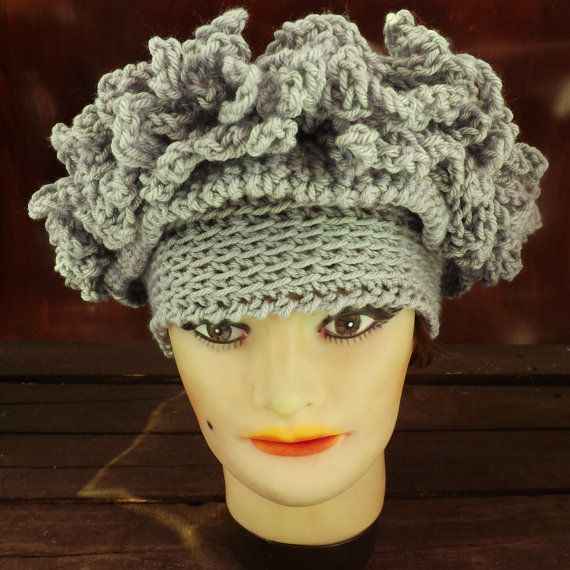 Crochet Hats for Women  LINDA Womens Fringe ❤ by strawberrycouture, $40.00