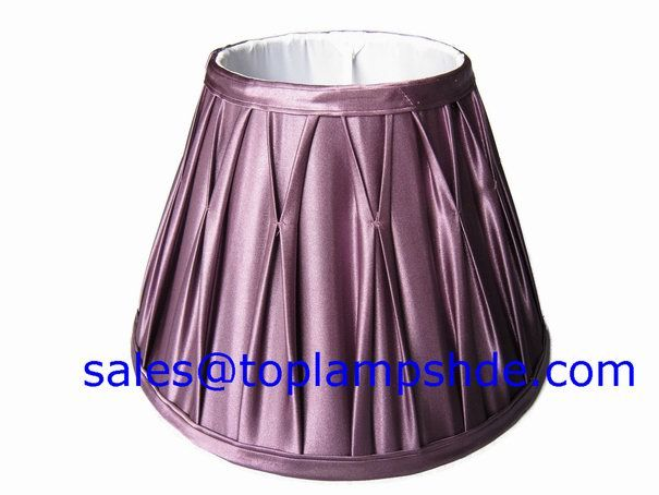 Lovely Pinch Pleated Lamp Shade   Pinch Pleated Lampshades Manufacturer