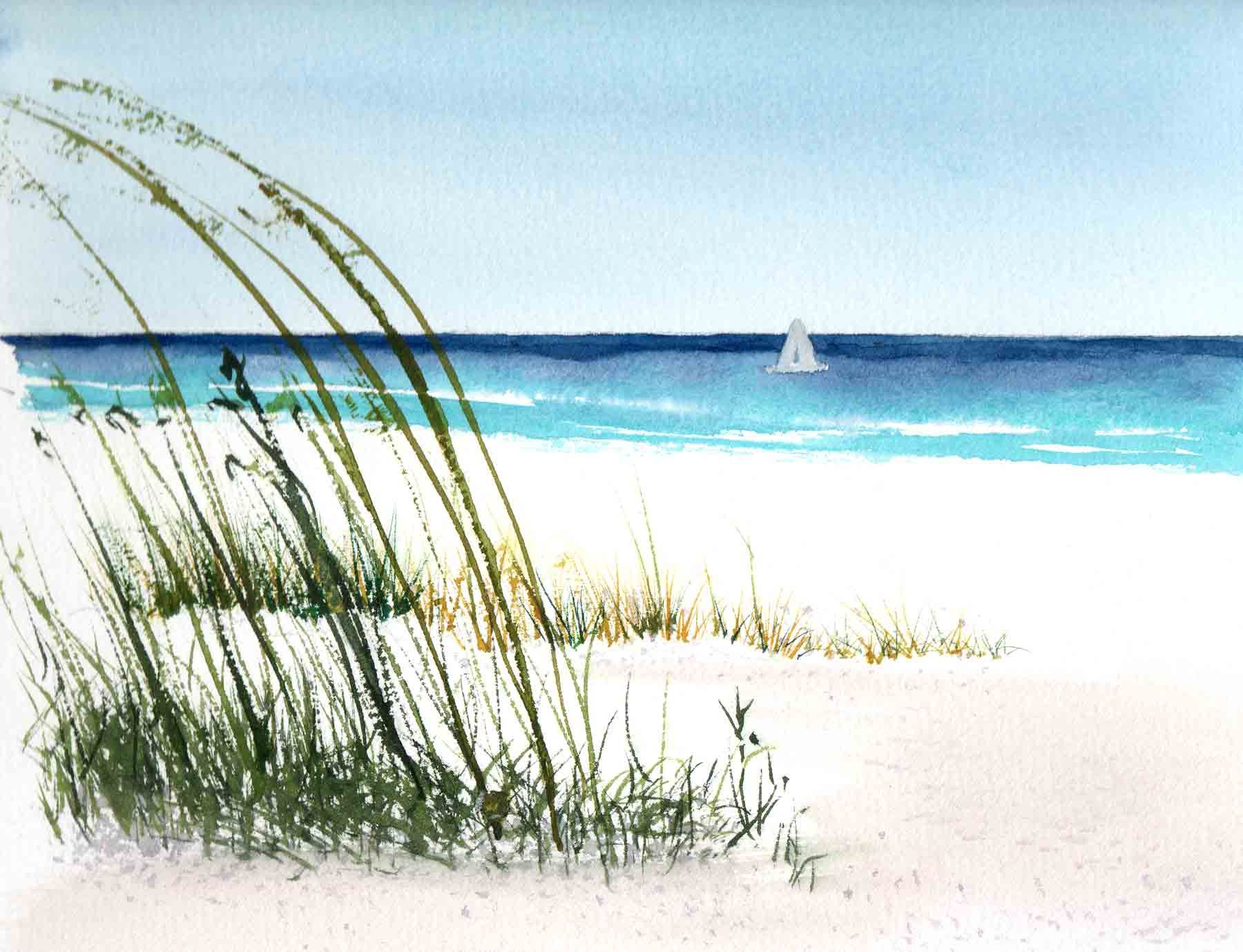 Watercolor Painting Landscape 29 HD Wallpaper   Painting Ideas ...