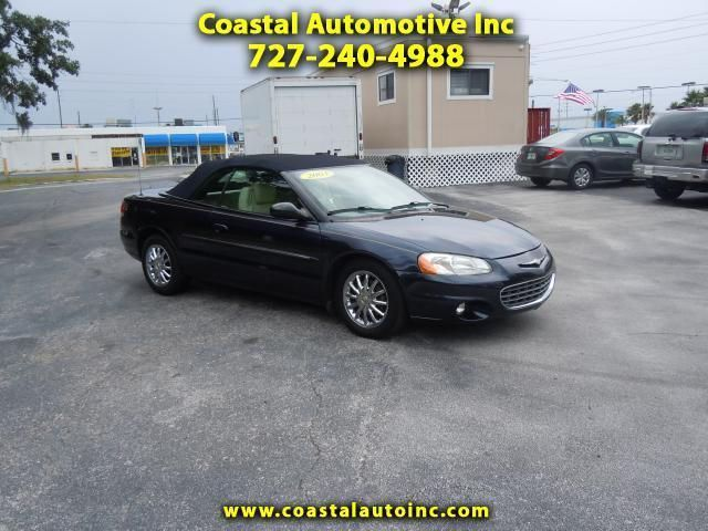 2003 Chrysler Sebring Limited Convertible For Sale In Dunedin For