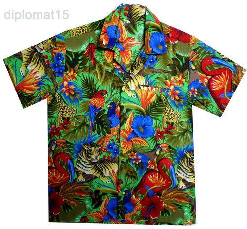 Loud Funky Hawaiian Shirt Bachelor Party Men Shirt Aloha Holiday