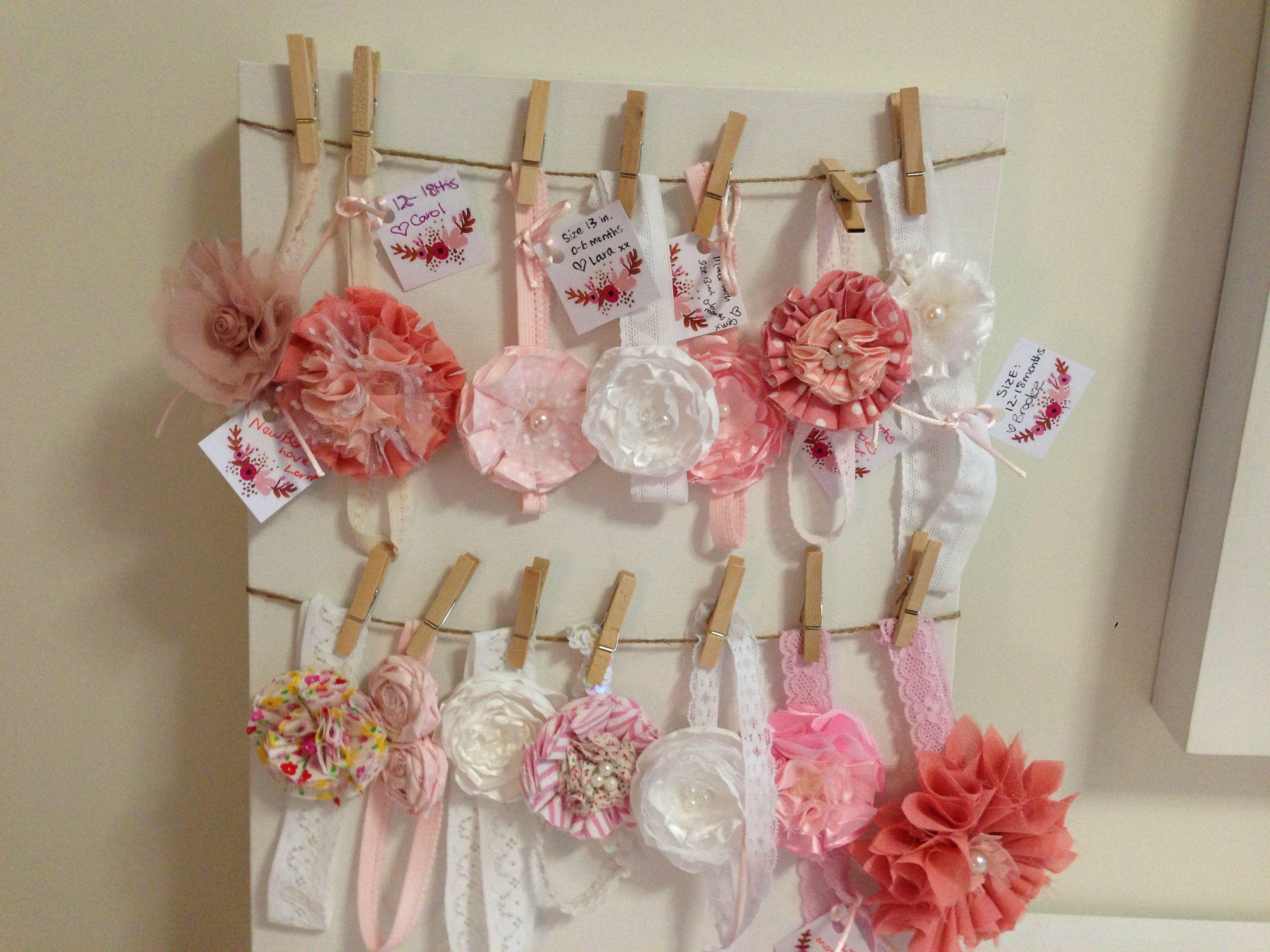 Baby Girl Headbands Display Inexpensive To Make And Cute Diy Hair Accessories Headband Kids Fashion Magazine