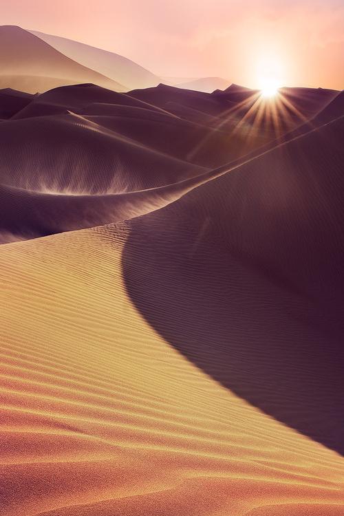 A Great Windy Sunset Kuwait The Golden Way By Hamad Al Failakawi Nature Beautiful Nature Desert Dream