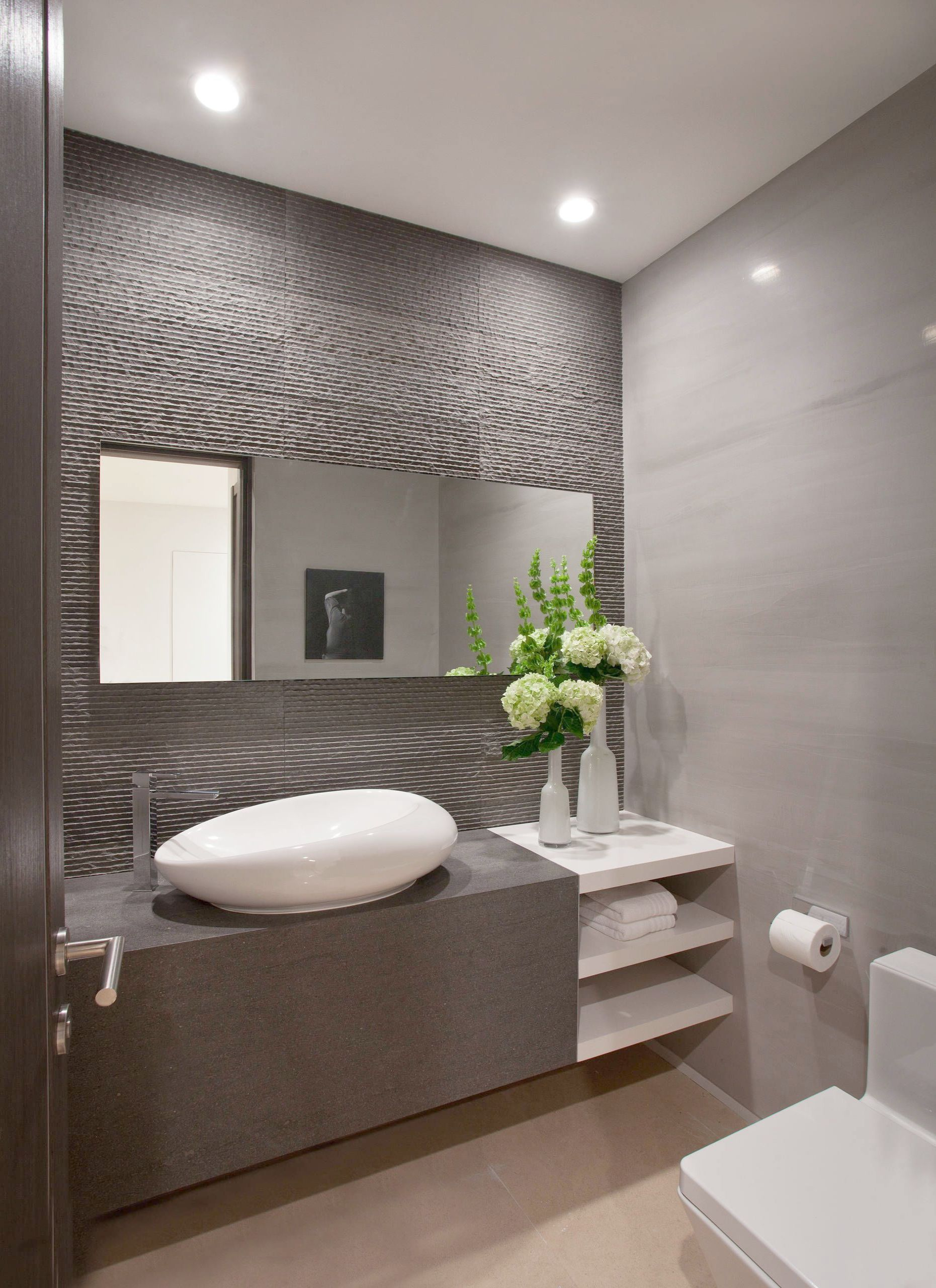 Modern Master Bathroom Showers D