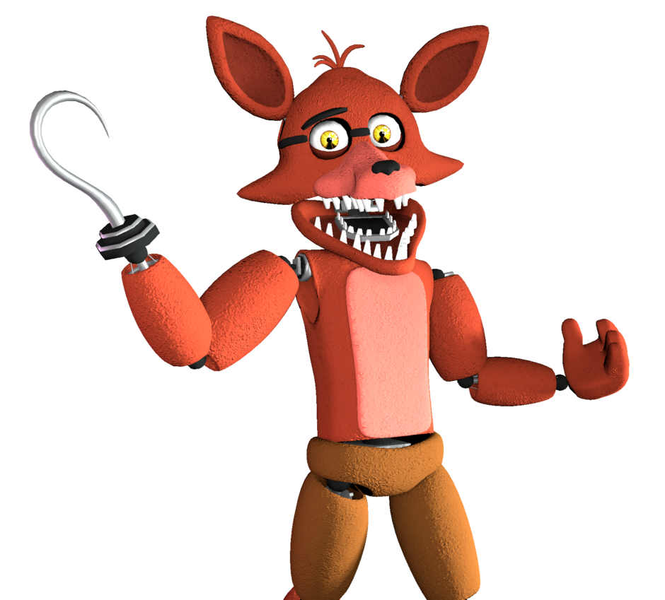 Unwithered Foxy The Pirate [Render] (SFM) By Arrancon On