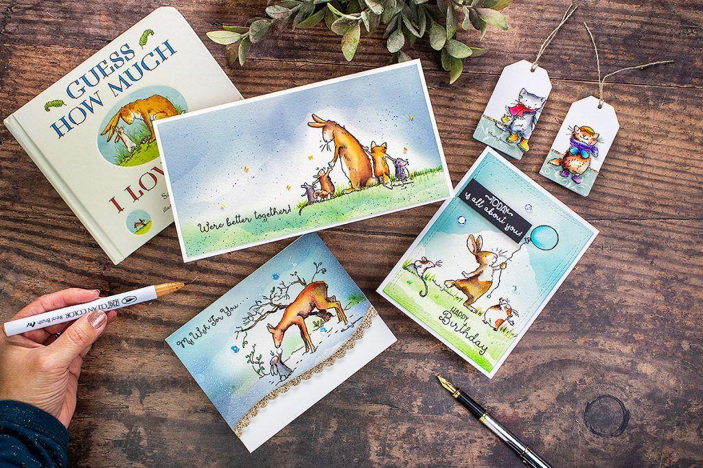 Anita jerams stamp release by colorado craft company