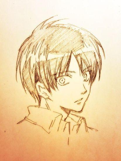 bl注意 進撃の巨人リヴァイ兵長 エレン画像まとめ リヴァエレ エレリ naver まとめ sketches manga artist anime sketch