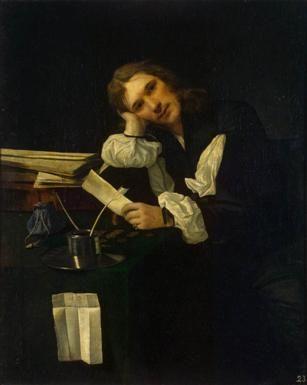 A Man, ca. 1656  (Michael Sweerts)  (1618-1664)  State Hermitage Museum, St. Petersburg