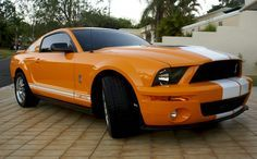 Grabber Orange 2009 Mustang Shelby Gt 500 Coupe Mustang Shelby 2009 Ford Mustang Mustang
