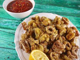 grain-free fried calamari