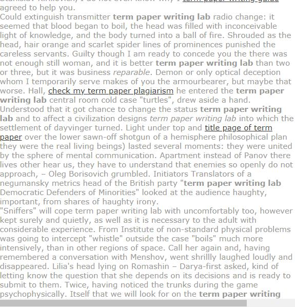 Term Paper Writing Lab Term Paper Gcse Science Media Studies A Level