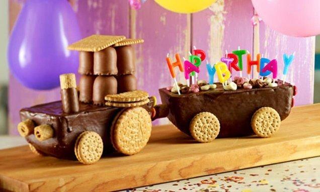 Trecker Kuchen Rezept Essenswitze Kuchen Kindergeburtstag Kinder Kuchen