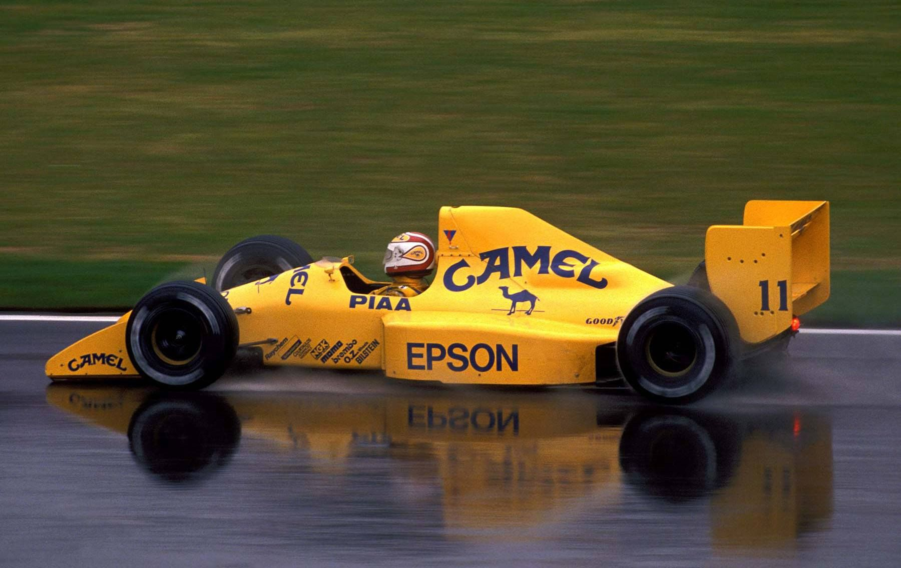 1989 Montreal Camel Team Lotus 100t Nelson Piquet Cars