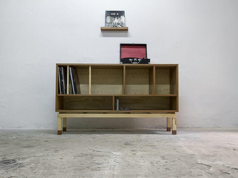 mueble para discos vinilo - Cerca amb Google | Furniture & stuff ...