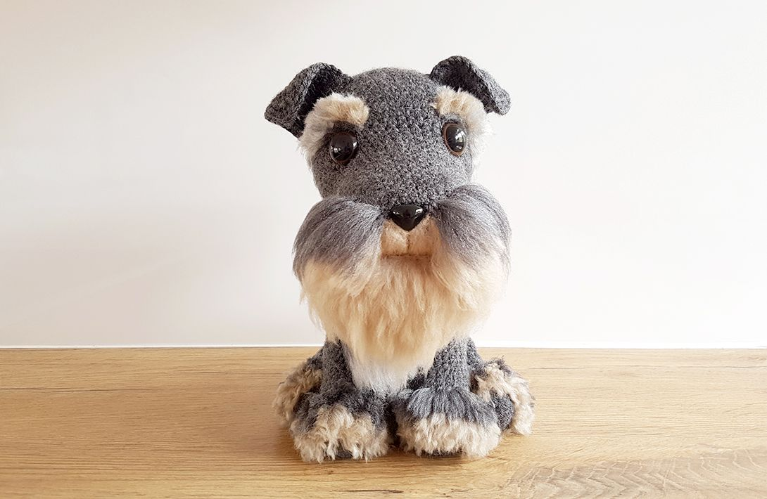 PROJECT #027: AMIGURUMI DOG WITH DIY FUR | Pinterest | Perros ...
