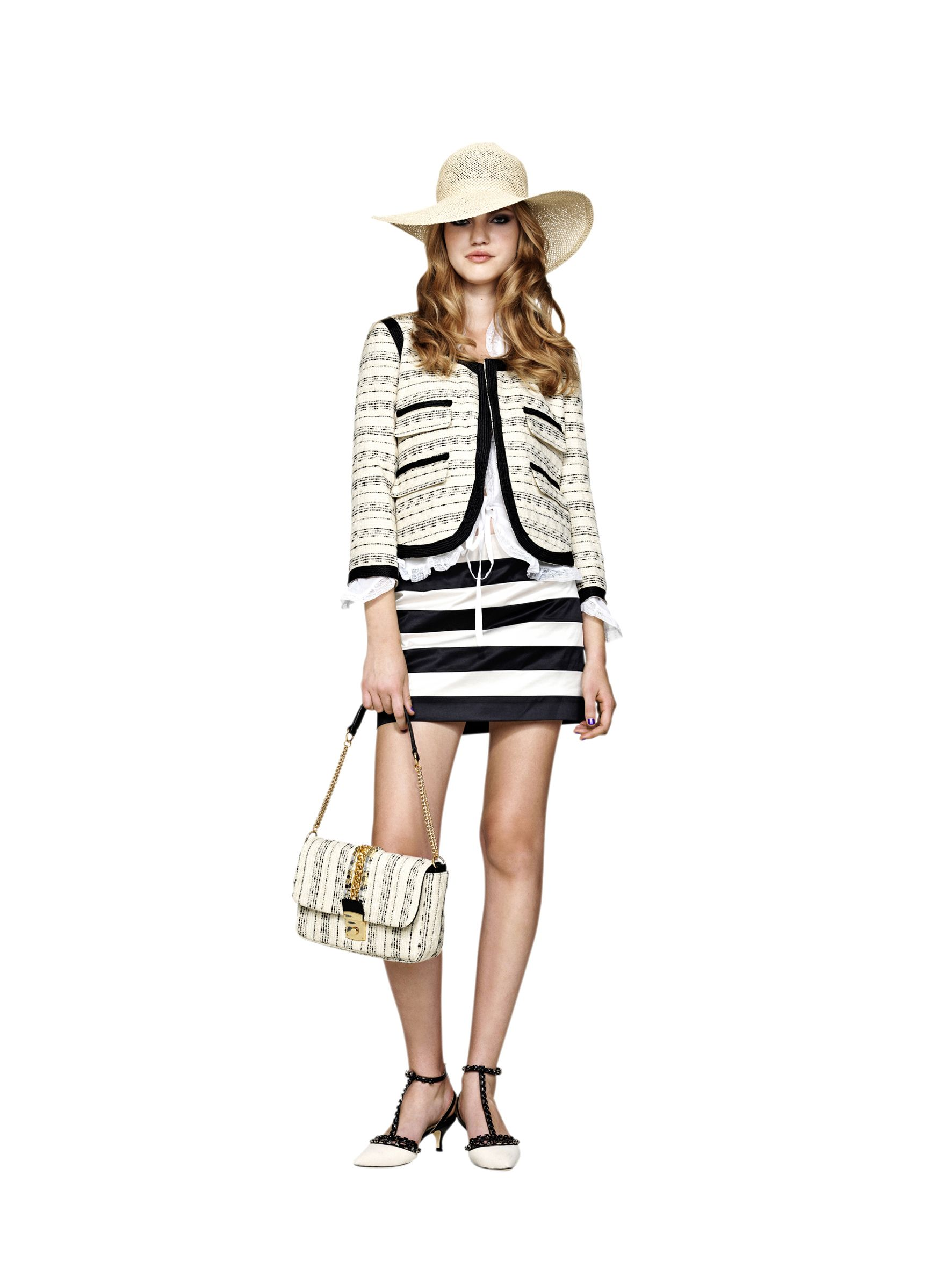 Love the jacket and skirt from Malene Birger