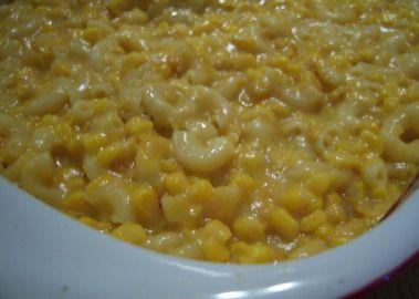 Macaroni & Corn Casserole Recipe  - Food.com