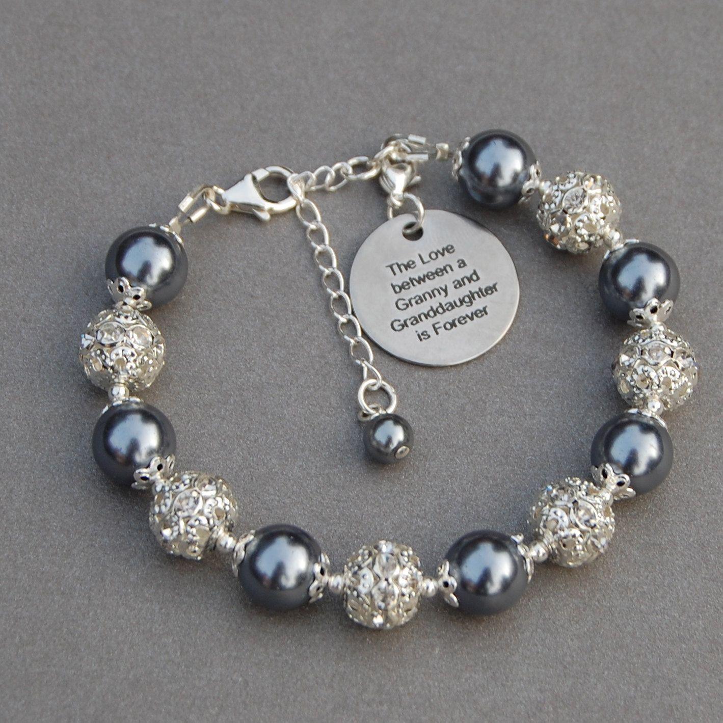 Granny Granddaughter Gift Granny Granddaughter Jewelry Granny Gift Granddaughter Bracelet Gift for Granny Grandmother Gift
