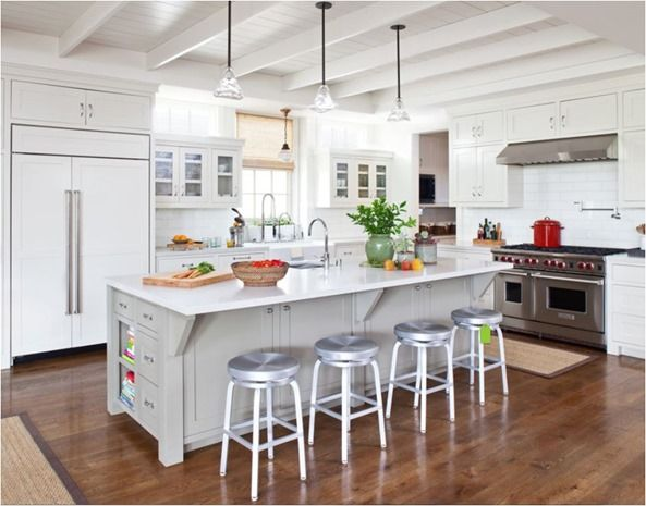 Remodel Woes Kitchen Ceiling And Cabinet Soffits Centsational Style Kitchen Ceiling Wood Floor Kitchen White Kitchen Wood Floors