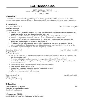 Pin By Kim Jones On Paralegal Resumes Resume Examples Paralegal Resume