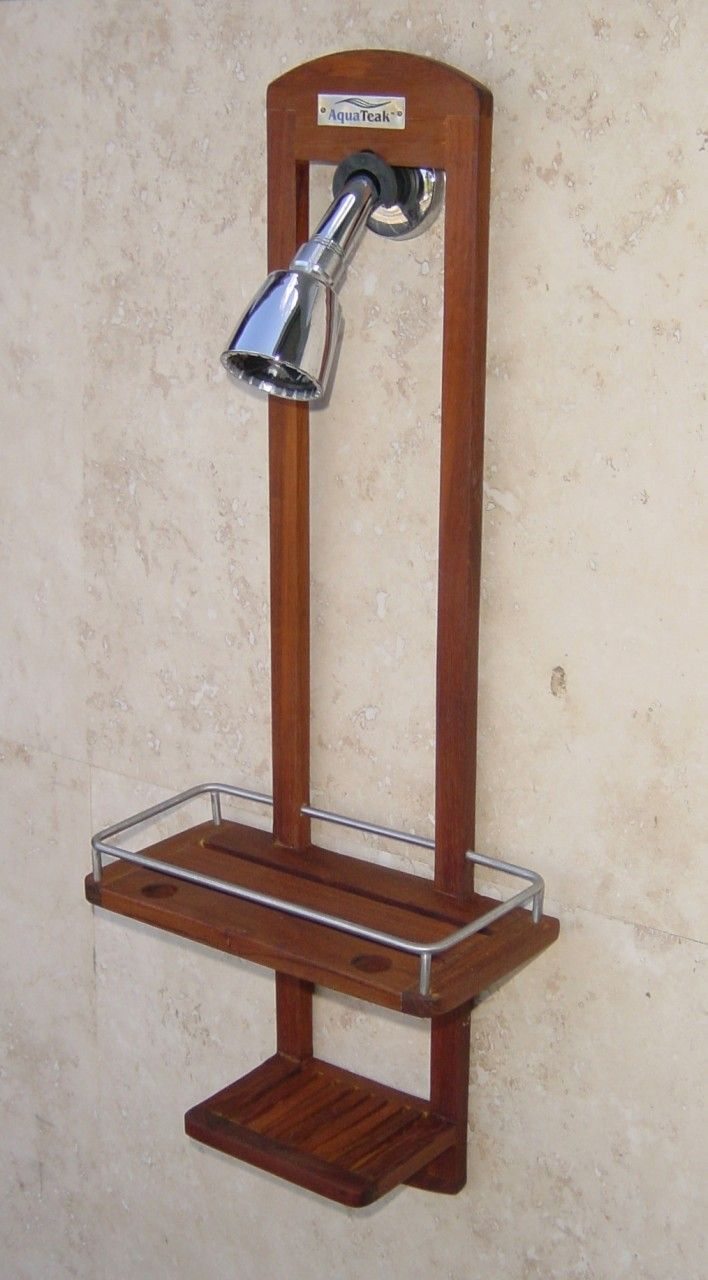 Aqua Teak Shower Caddy From The Spa Collection 303 49 95 Http