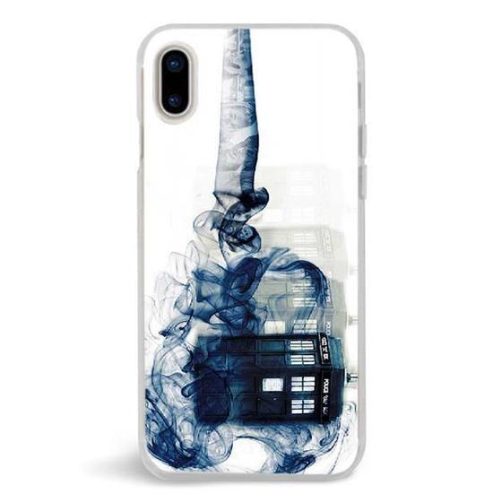 DOCTOR WHO TARDIS SMOKE iphone case