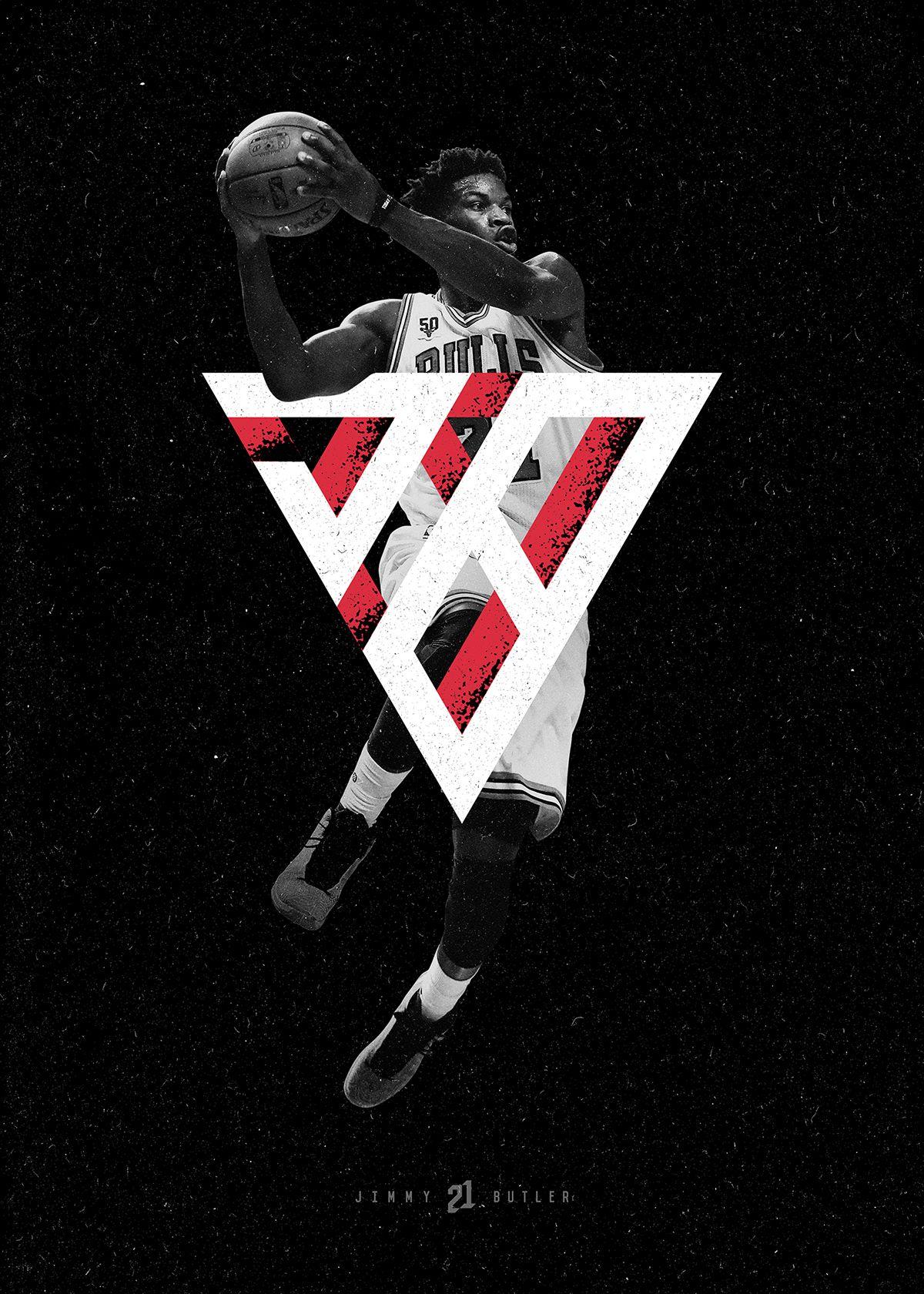 Jimmy Butler Brand On Behance Nba Funny Butler Sports Graphic Design