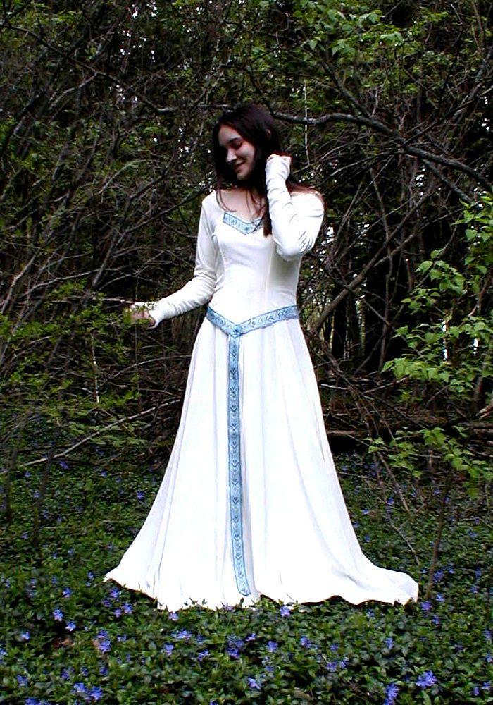 Pics For > Modern Celtic Dress Celtic wedding dress