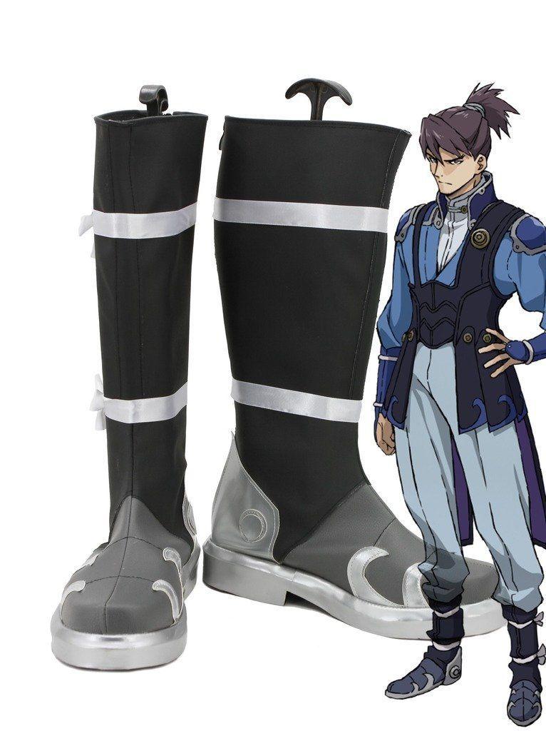 Kabaneri of the Iron Fortress Kurusu Cosplay Shoes Boots Custom Made