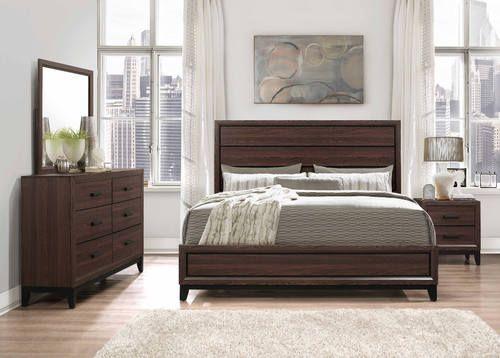 Kate Brown Bedroom Set by Global Furniture Bedroom Pinterest