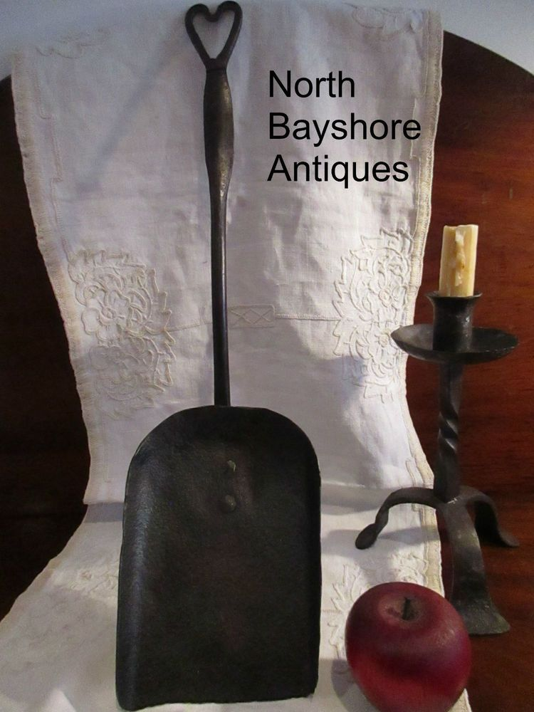 Antiques 1700s New England Open Hearth Wrought Iron Fireplace ...