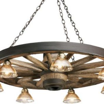 Rustic Lodge Reproduction Wagon Wheel Chandelier With Down Lights Zoom Cabela S Wagon Wheel Chandelier Wagon Wheel Wagon Wheel Light